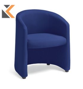 Reception Blue Tub Chair