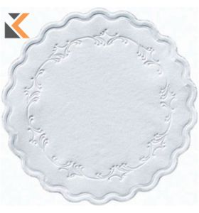 Duni White Ply 9 Coasters - [Pack of 250]