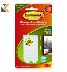 Command Picture Hanging Strips Medium - [Pack 4]