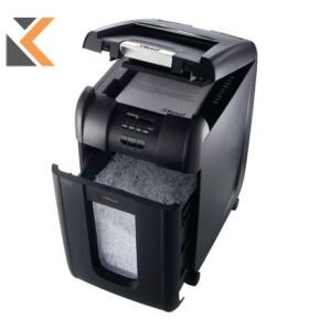 Rexel Shredder Auto Feed 300M Micro Cut P5 - [300 Sheet] Shredder