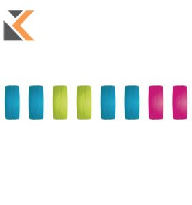 Rectangular Coloured Magnets 27mm - [Pack of 8]