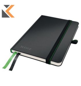 Leitz 4480 Complete Hard Cover A6 Notebook Ruled Black