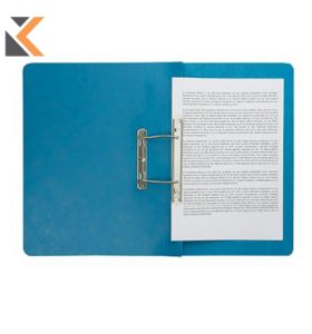 Europa Spiral File A4 Blue Foolscap - [Pack Of 25]