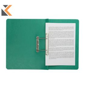 Europa Spiral File A4 Green Foolscap - [Pack Of 25]