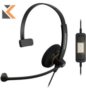 Sennheiser - [SC30] Wired USB PC Monaural Headset Skype
