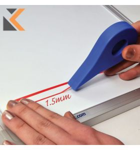 Adhesive Gridding Red Tape - [1.5mm X 10M]