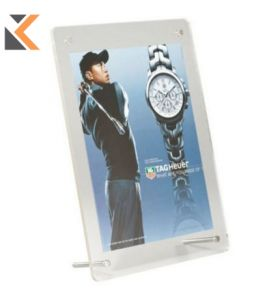 Acrylic Free Standing Frame Desktop A5 F/Iss