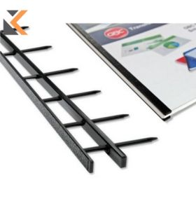 Velobind Strips S1 25X297mm Blk - [Pk100]