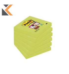 Post-It 654-6SS-AW Super Sticky Aqua Pk6 - [76X76mm]