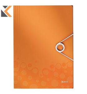 Leitz Wow Folder Orange - [3 Flap]