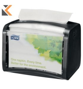 Tork Xpressnap Tabletop N4 Napkin Dispenser - Black