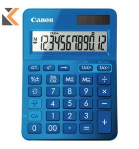 Canon K-Series - [12 Digit] Desk Blue Calculator