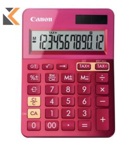 Canon K-Series - [12 Digit] Desk Calculator Pink