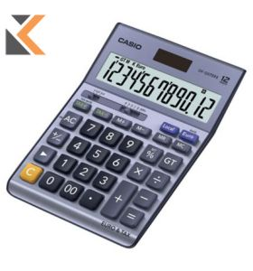 Casio DF-120TER II Desk Top Calculator - [12Digit]