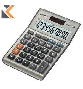 Casio MS-100Bm Desktop Calculator - [10 Digit]