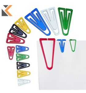 Plastic Clips Assorted Colour 35mm - [Tub of 200]