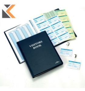 Durable Visitors Book Refills Perforated Badge Inserts - [Pack of 300]