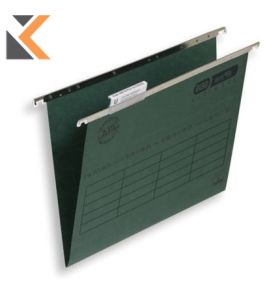 Elba Strongline Verticfile Ultimate Suspension File Foolscap Green V Base - [Bx 50]