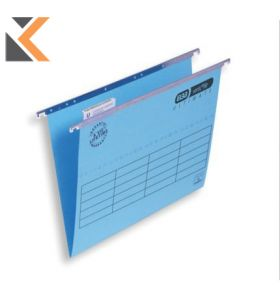 Elba Strongline Ultimate Verticfile Suspension Foolscap File Blue V Base - [Bx 50]
