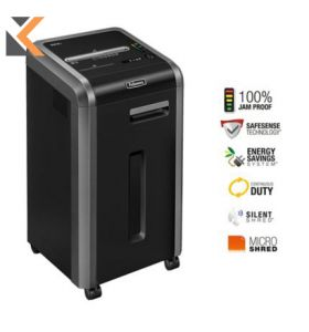 Fellowes Powershred 225Mi Shredder Micro Cut - [P-5 60L]