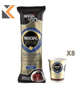Nescafe And Go Decaffeinated - [57.6G] Wh Pk8