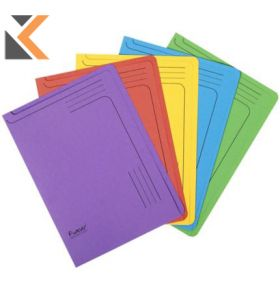 Europa Slipfile, A4, 300 Micron - Assorted Colours - [Pack of 25]
