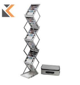 Deflecto A4 Folding Stand Floor