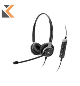 Sennheiser Premium Binaural Telephone Headset With Disconnect Easy
