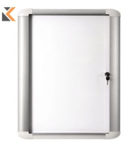 Bi-Office External Magnetic Whiteboard Case Glazed - [9xA4]