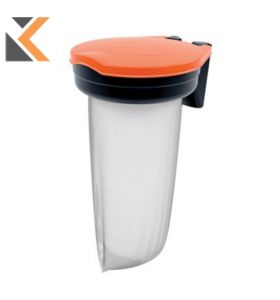 Skipper Orange Recycling Bin