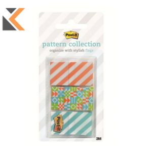 Post It 682-Geos Flags Geos Pack of 3 - [24X43]