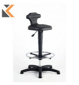 Interstuhl Black Draughtsman's Sit Stand Chair