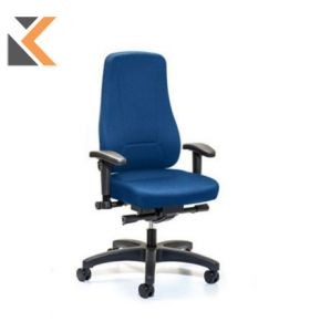 Interstuhl Younico - [2456] Blue Synchrone Chair