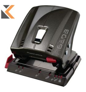 Maped 6303 Advanced 2-Hole Punch - [35Sht D/Grey]