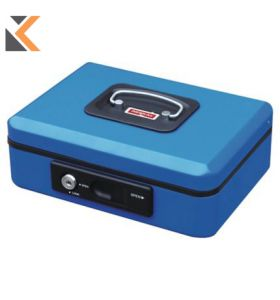 Reskal Cash Box W/Auto Button - [200X160X90mm] Blue