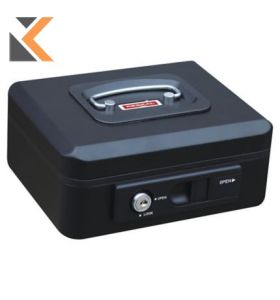 Reskal Cash Box W/Auto Button - [300X240X90mm] Black