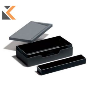 Durable Varicolor Job Case Charcoal