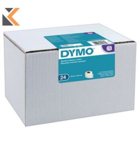 Dymo LW Address Labels, 28mm X 89mm - [24 Rolls of 130]