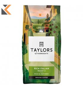 Taylors of Harrogate Rich Italian Ground Coffee - 227G