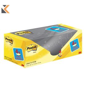 Post-It Value Pack Notes  Yellow Pk20 - [76X127mm]