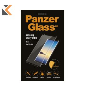 Panzerglass Samsung Galaxy Note9, Blk Case Friendly W. Pg Case- [Screen Protector]