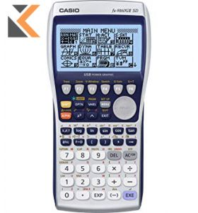 Casio - [FX-9860GII] Graphic Calculator, Large Back-Lit Display