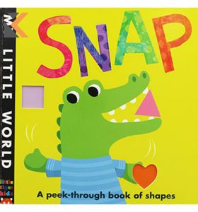 Snap: My-Little World Board Book
