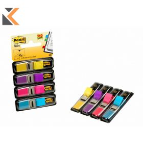 Post-It Index Value Pack - 4 Assorted Colours