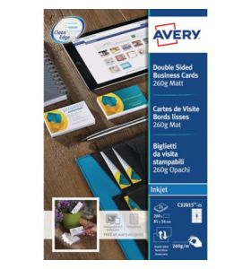 Avery C32015-25 Business Cards, 8 Labels Per Sheet - [85 x 54 mm]