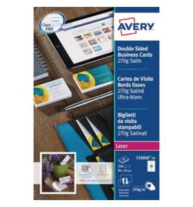 Avery C32026-25 Business Cards, 10 Labels Per Sheet - [85 x 54 mm]