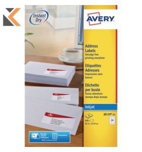 Avery J8159-25 Labels, 24 Labels Per Sheet, 600 Labels Per Pack - [63.5 x 33.9 mm]