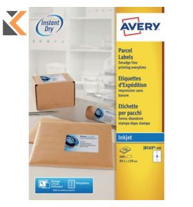 Avery J8169-100 Labels, 4 Labels Per Sheet, 400 Labels Per Pack - [139 x 99.1 mm]