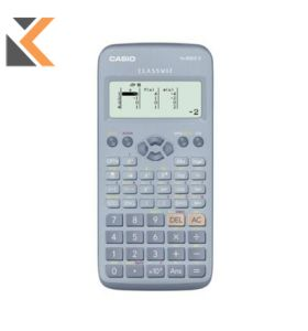 Casio GCSE Scientific Blue Calculator With Battery