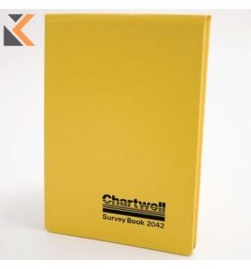 Chartwell Dimensions Survey Book,  Numbered, Lined - [130X205mm]